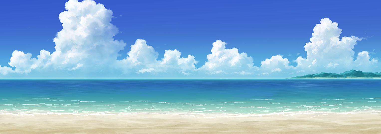 海_砂浜ぶるぅ・ぱんだ屋さん | ぶるぅ・ぱんだ屋さん
